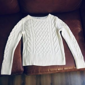 Gap women's cable knit sweater